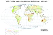 Global Change in Rain-Use Efficiency 1981-2003