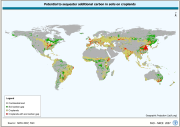 Potential to sequester additional carbon in soils on cropland