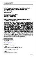 Francesco N. Tubiello, Atiqur Rahman, Wendy Mann, Joseph Schmidhuber, Marieta Koleva, Alexander Müller. 2009. Carbon financial mechanisms for agriculture and rural development: challenges and opportunities along the Bali Roadmap. An editorial essay