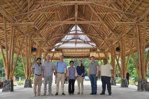 Visiting UNORCID Indonesia February 2014