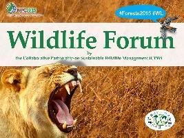 Summary report of the Wildlife Forum, 9 September 2015