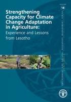 No. 18 - Strengthening Capacity for Climate Change Adaptation: Experience and Lessons from Lesotho