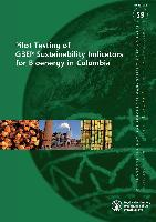 No 59 - Pilot Testing of GBEP Sustainability Indicators for Bioenergy in Colombia