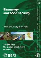 No 40 - The BEFS Analysis for Peru-Supporting the policy machinery in Peru