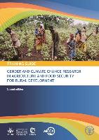Training Guide for Gender and Climate Change Research in Agriculture and Food Security for Rural Development