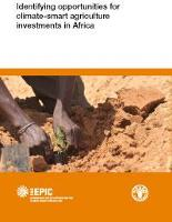 Identifying opportunities for climate-smart agriculture investments in Africa