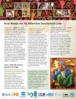 Rural Women and the Millennium Development Goal (MDG)