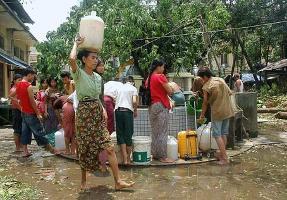 Myanmars viktigaste jordbruksområde förstört