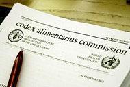 Kommissionen för Codex Alimentarius beslutar om nya riktvärden