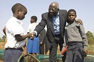 FAO: s generaldirektör i Swaziland under pågående matkris