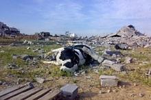 Jordbruket i Gaza allvarligt skadat