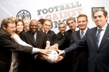 Fotbollsspelare i kamp mot hungern