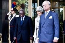 Sveriges kungapar på besök hos FAO, IFAD och WFP