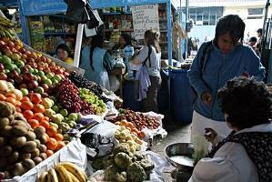 Världsmarknadspriset på jordbruksprodukter sjunker
