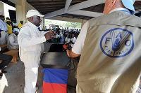 Diouf vädjar om G8-stöd till Haiti
