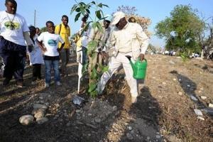 FAO inviger vårbruket i Haiti
