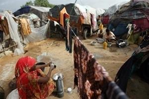 Humanitär katastrof i Somalia avtar