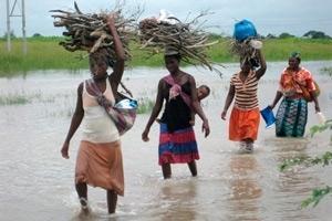Översvämningar hotar livsmedelsförsörjningen i delar av södra Afrika