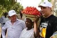 """Stoitchkov i Burkina Faso: """"Tillsammans kan vi bekämpa hungern"""""""