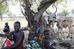Sydsudan hotas av matkris