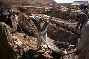 Återuppbyggnad av Afghanistans bevattningssystem