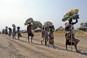 Familjer i konfliktdrabbade Sydsudan stöds av FAO