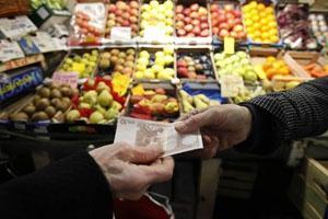 Livsmedelspriserna i stort sett oförändrade i mars