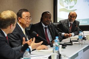 FN:s generalsekreterares initiativ för hungerbekämpning välkomnas