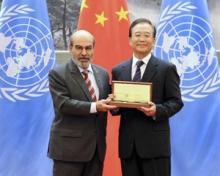 Kinas premiärminister Wen Jiabao får FAO-pris