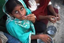 Omkring 870 miljoner kroniskt undernärda i världen visar ny hungerrapport