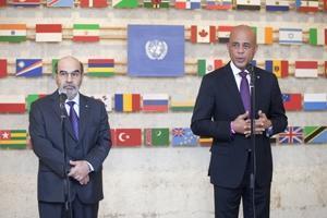 FAO:s generaldirektör och Haitis president efterlyser ökade investeringar i Haiti