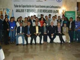 Regional Training of Trainers Workshop for Market Analysis and Development - 3-7 February 2014 - Guatemala