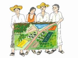 How indigenous peoples and local communities sustainably manage their forest and land in Bolivia?
