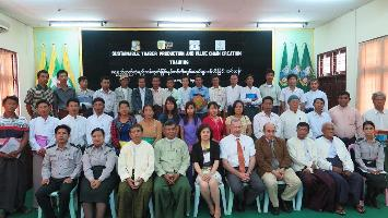 Sustainable Timber Production and Value Chain Creation - Training course in Myanmar