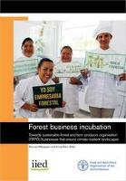 New book on Forest business incubation