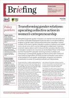 Transforming gender relations: upscaling collective action in women's entrepreneurship