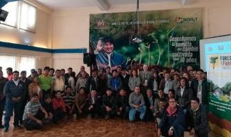 Bolivia launches the second phase of the FFF to strengthen producers