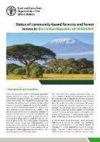 Status of community-based forestry and forest tenure in United Republic of Tanzania