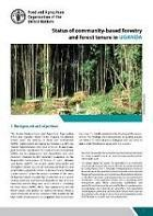Status of community-based forestry and forest tenure in Uganda