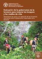 Evaluación de la gobernanza de la tenencia para mejorar los bosques y los medios de vida