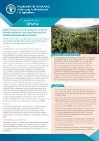 Establecimiento de un sistema nacional de monitoreo forestal multipropósito para mejorar la capacidad de monitoreo del uso de la tierra en Ghana