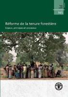 Étude FAO: Forêts 165 Réforme de la tenure forestière
