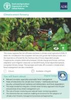 Climate-smart forestry e-learning course