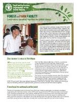Forest and Farm Facility factsheet: Local voices speaking together for global change