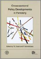 Cross-sectoral policy developments in forestry