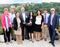 Global Forest Communicators Group connect in Rome