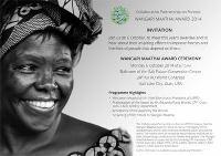Le lauréat du Prix Wangari Maathai 2014 sera annoncé le lundi 6 octobre