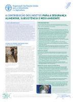 A Contribuição dos Insetos para a Segurança Alimentar, Subsistência e Meio Ambiente