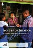 Access to finance for forest and farm producer organisations (FFPOs)