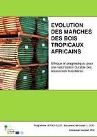 Nouveau document de travail sur l'évolution des marchés des bois tropicaux africains